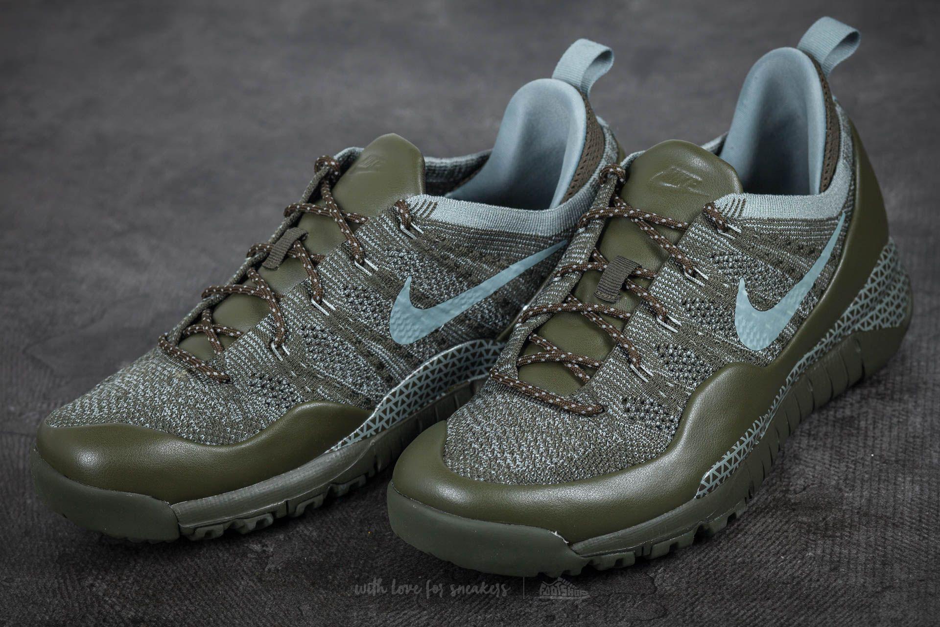 f8f2fbcb14ad ... Lyst - Nike Lupinek Flyknit Low Cargo Khaki Mica Green in Green for Men  ...