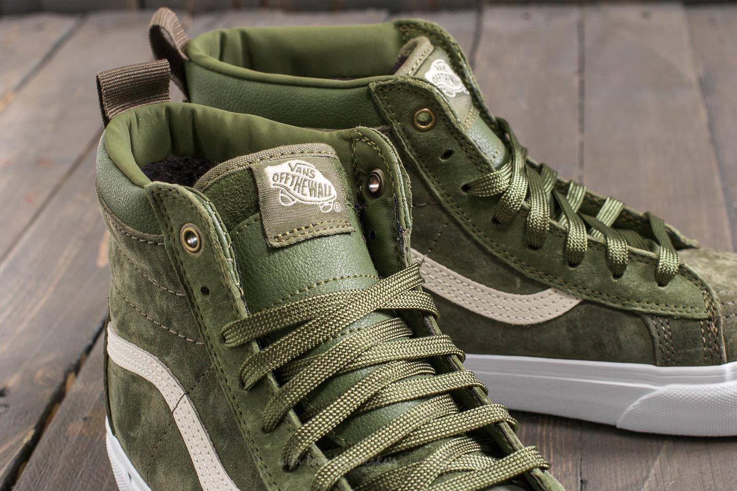 6ec509d6bd Lyst - Vans Sk8-hi (mte) Winter Moss  Military for Men