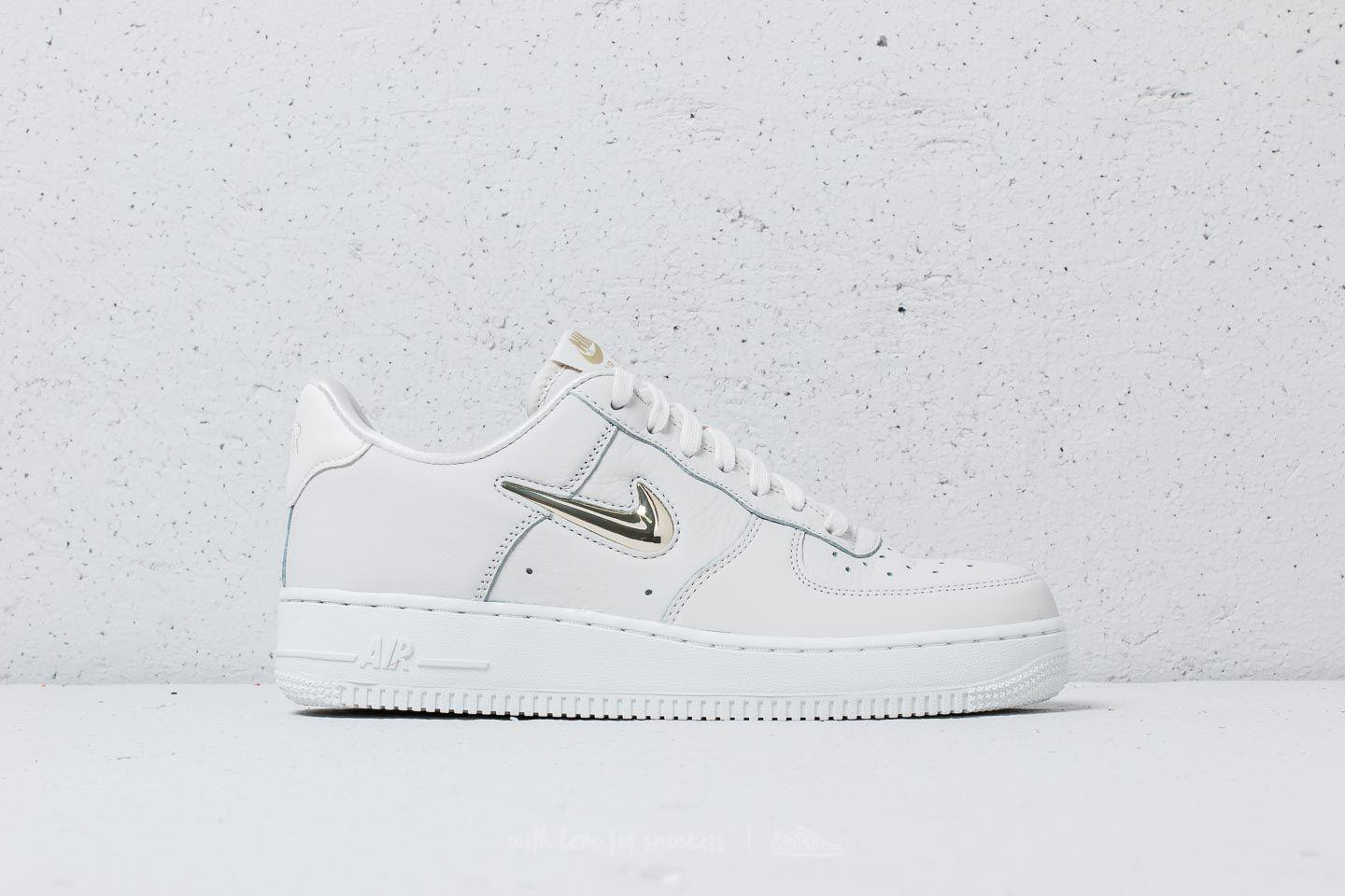 newest ed4e7 e5f43 Nike Wmns Air Force 1 ́07 Premium Lx Phantom  Mtlc Gold Star - Lyst