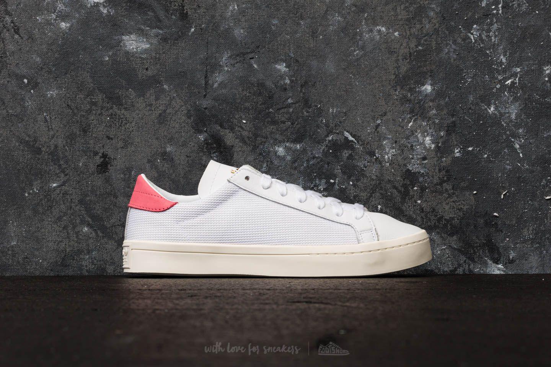 adidas Adidas Courtvantage Ftw / Ftw / Chalk Pink DA5qFqKFId