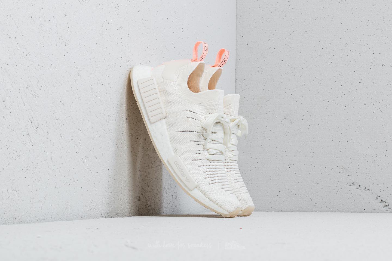 3e4a1e183c564 Lyst - adidas Originals Adidas Nmd r1 Stlt Primeknit W Cloud White ...
