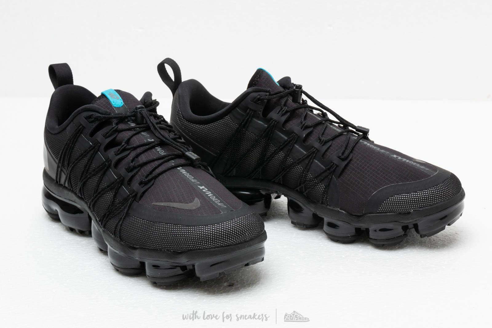 486a43bcd08 Lyst - Nike Air Vapormax Run Utility Black  Cool Grey-blue Fury in ...