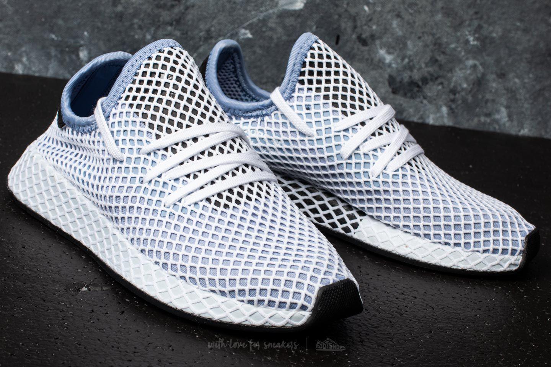 dbaefaaa0f092d Lyst - adidas Originals Adidas Deerupt Runner W Chalk Blue chalk ...