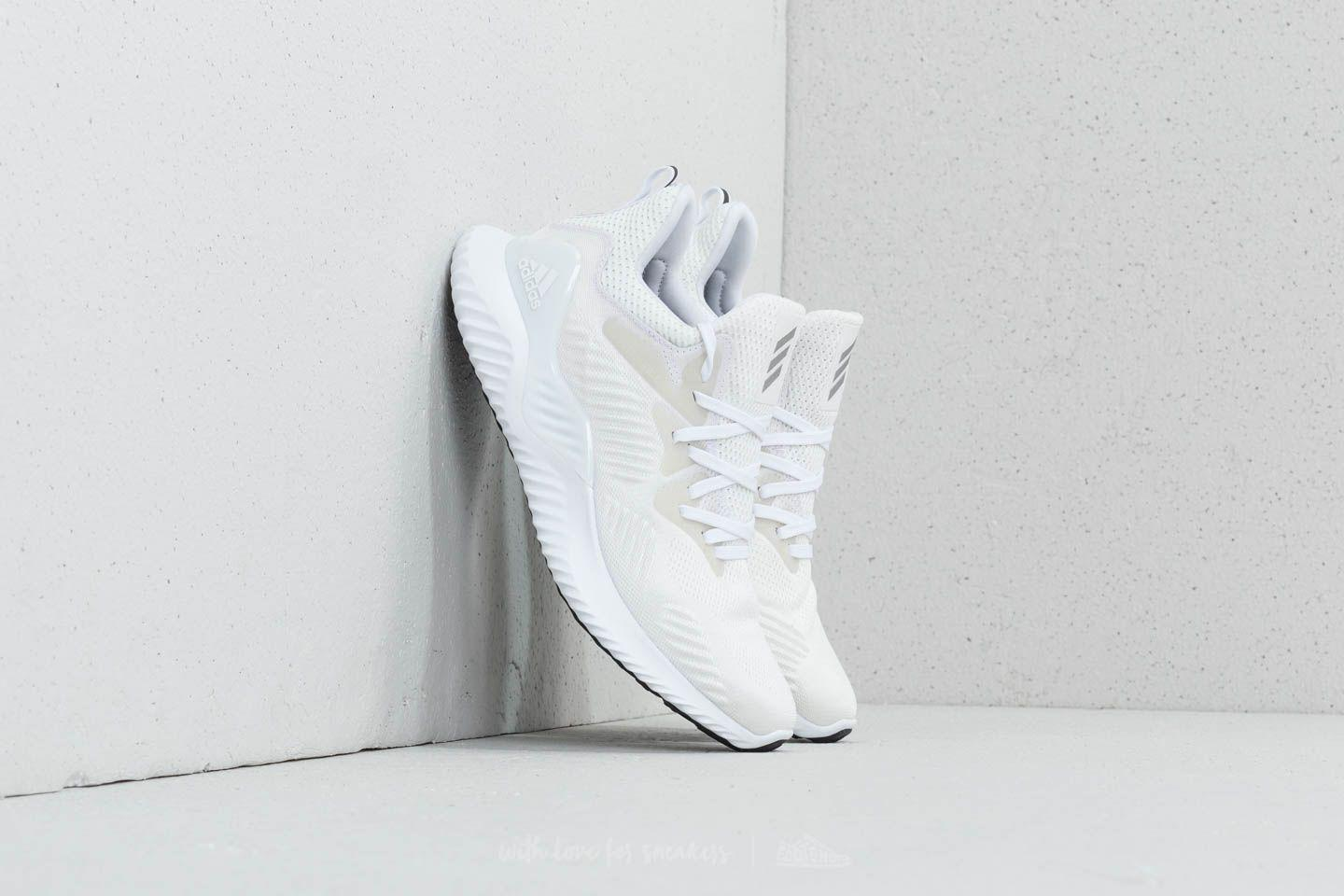 release date 05655 e38aa Lyst - Footshop Adidas Alphabounce Beyond W Ftw White Silver