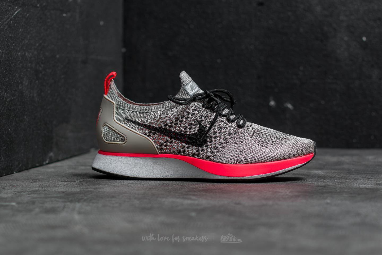 Lyst - Nike Wmns Air Zoom Mariah Flyknit Racer Premium String  Black ... 35a8c174a