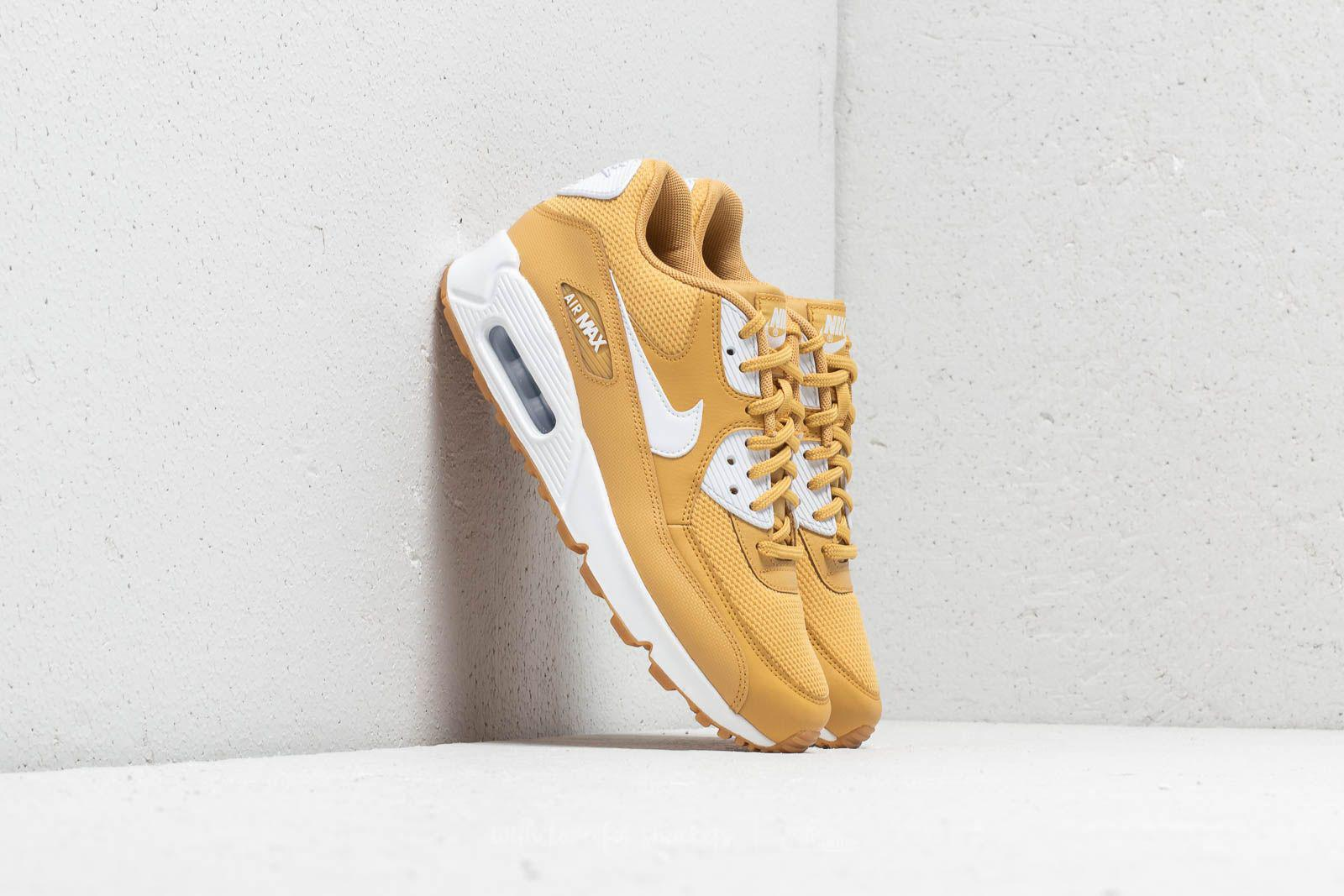 d92b37f7263 Lyst - Nike Wmns Air Max 90 Wheat Gold  White in Metallic