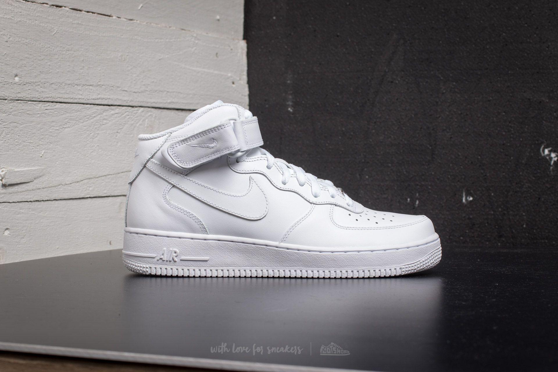 nike air force 1 mid ́07 black/cool grey-white cardigan