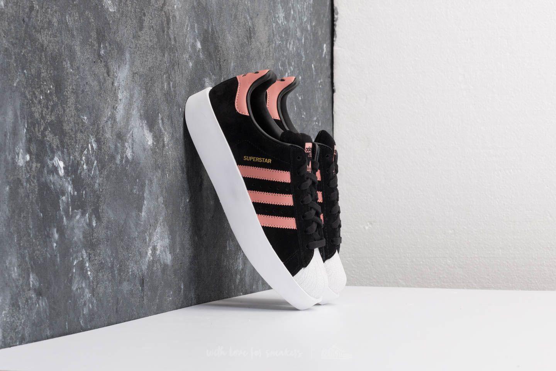 online store e23f8 45c08 Lyst - adidas Originals Adidas Superstar Bold W Core Black A