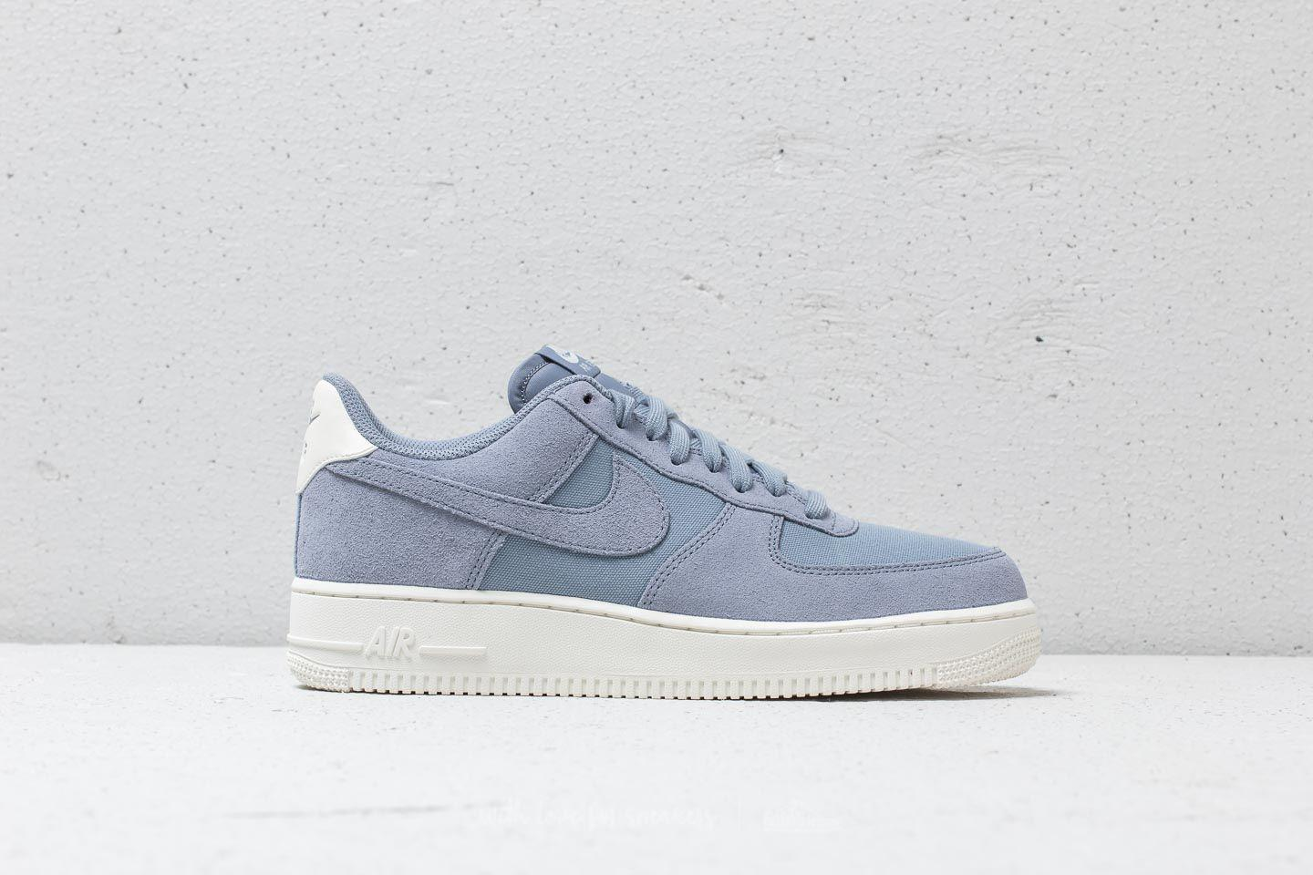 quality design a2d03 6d166 Nike Air Force 1 '07 Suede Ashen Slate/ Ashen Slate-sail in Gray for ...