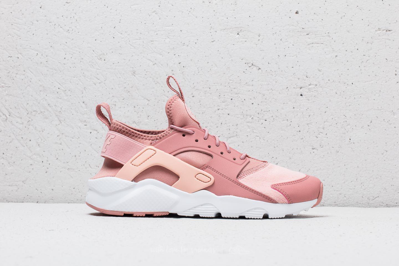 Nike SportswearHUARACHE RUN ULTRA SE - Trainers - rust pink/storm pink/white svePs4g