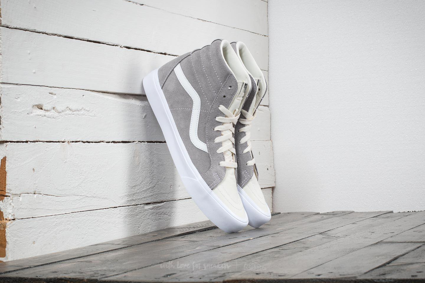 dce0b9b0c0a Vans Sk8-hi Reissue Lite (two-tone) Frost Gray/ Marshmallow in Gray ...