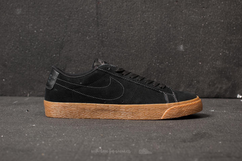 f20b8d71f7107d Lyst - Nike Sb Zoom Blazer Low Black  Black-anthracite in Black for Men