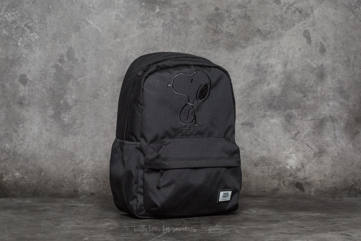 0268147bac Lyst - Vans X Peanuts Tonal Realm Backpack Black in Black for Men