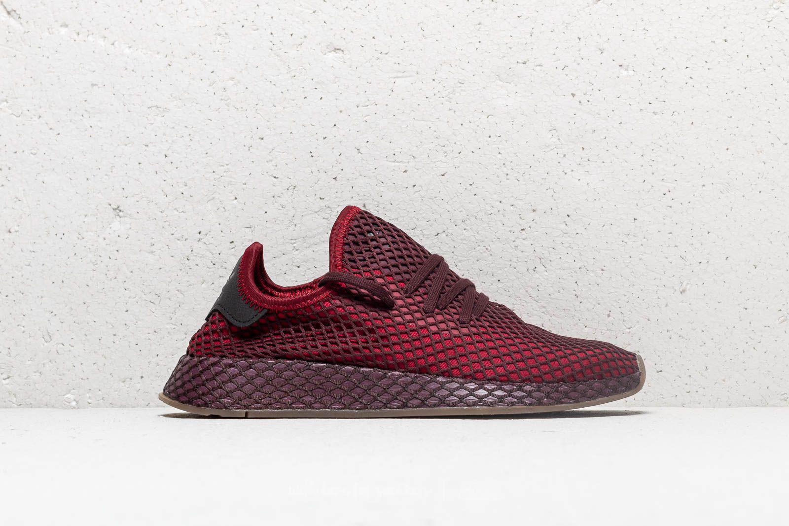 98190251e1cfd Lyst - adidas Originals Adidas Deerupt Runner Collegiate Burgundy ...