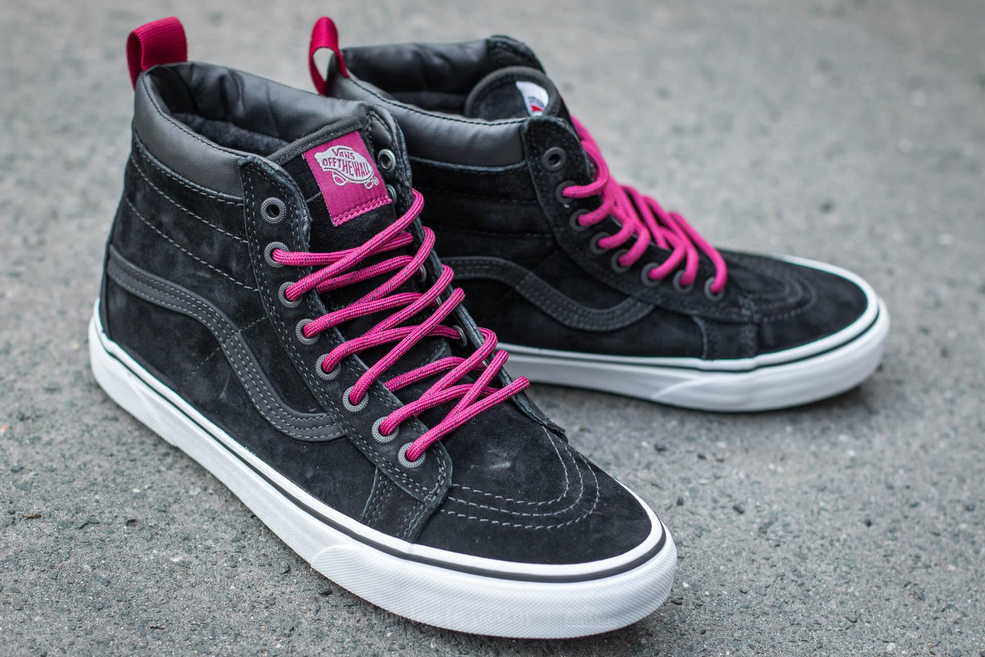 fe6244cdb968 Lyst - Vans Sk8-hi Mte (mte) Black  Beet Red for Men