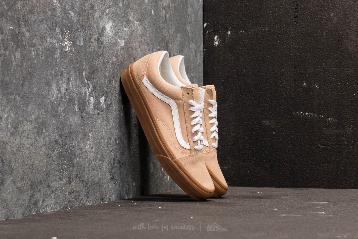 275d5d586d32 Lyst - Vans Old Skool Sesame  Gum for Men