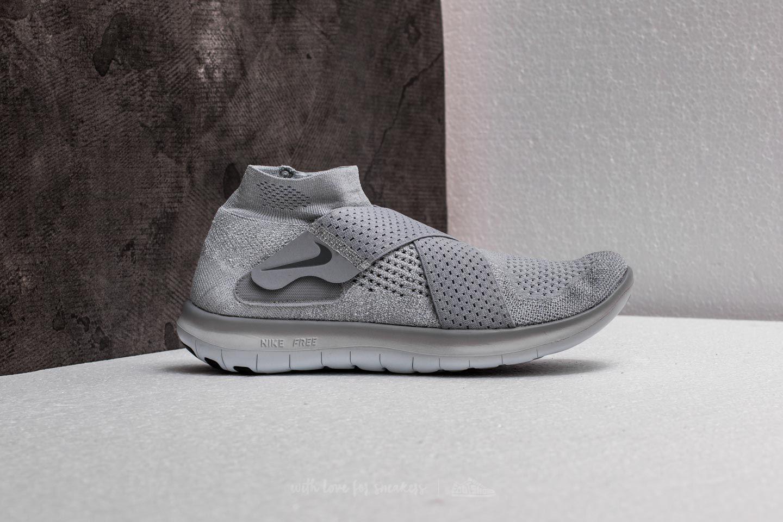 fb5feda84983 Lyst - Nike W Free Rn Motion Flyknit 2017 Wolf Grey  Cool Grey in Gray