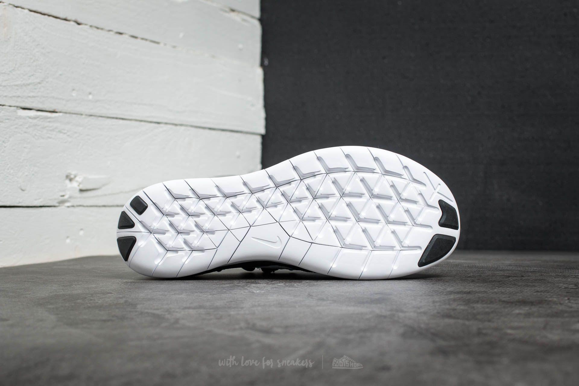 Nike - Free Run Flyknit 2017 Black/ White- Anthracite for Men - Lyst. View  Fullscreen