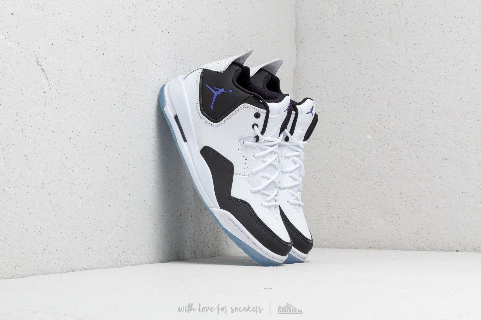 f28e90c959c Nike Courtside 23 White/ Dark Concord-black in White for Men - Lyst