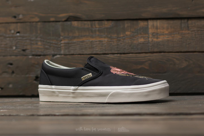 dccb38514a Lyst - Vans Classic Slip-on (california Souvenir) Black  Blanc De ...