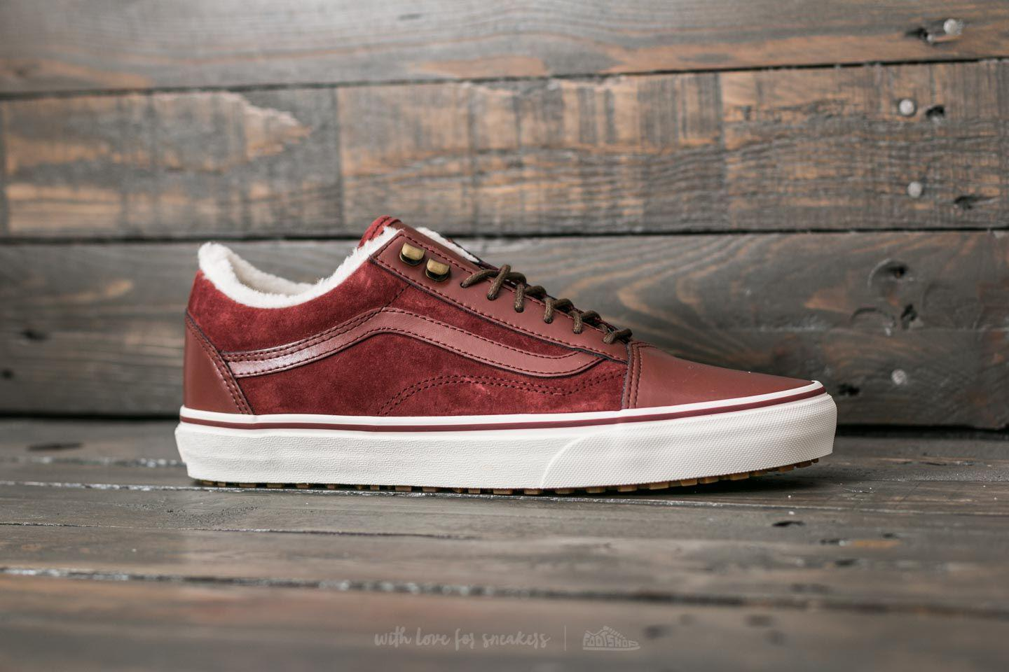 Vans Old Skool Mte Core burgundy Shoes