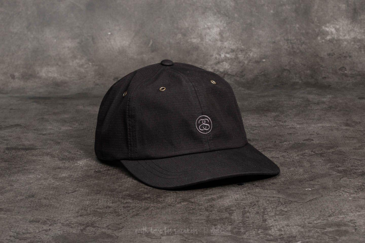 bb980cbe58d Lyst - Stussy Ss-link Ripstop Low Pro Cap Black in Black for Men
