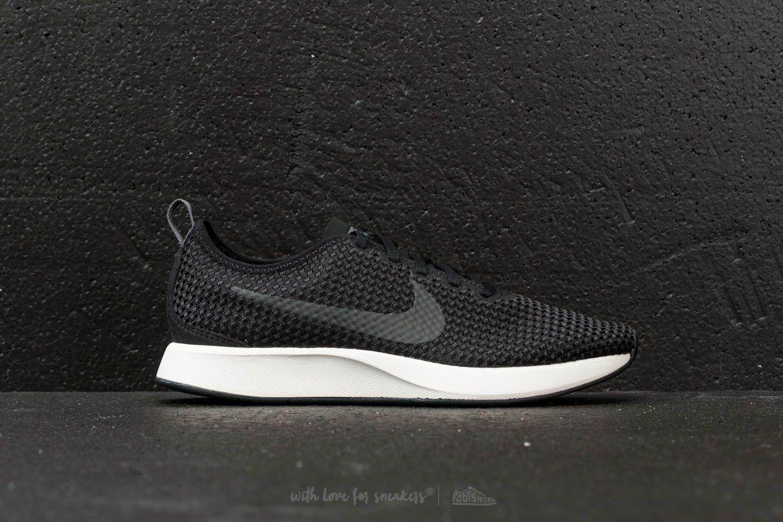 Nike Sportswear DUALTONE RACER - Trainers - black/dark grey/sail BX4PE9Zi