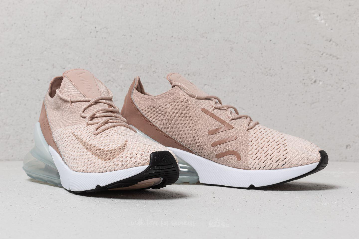 942b9b57c Nike Wmns Air Max 270 Flyknit Guava Ice/ Particle Beige - Lyst