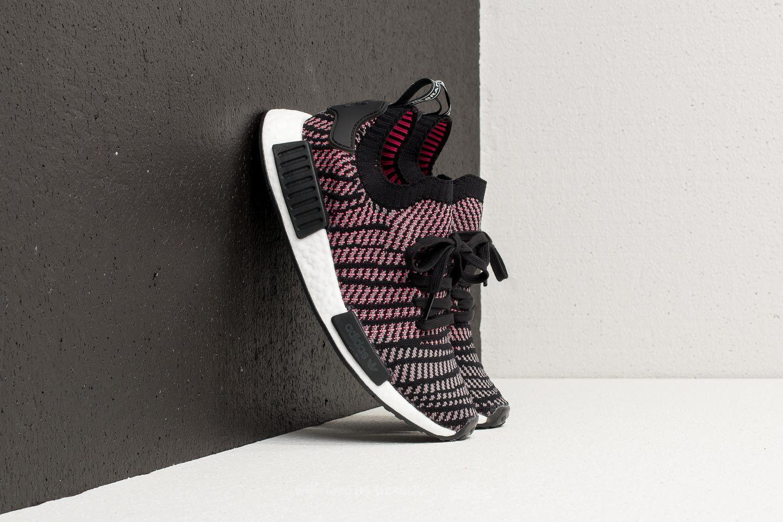 911bf9f81190e Lyst - adidas Originals Adidas Nmd r1 Stlt Primeknit Core Black ...