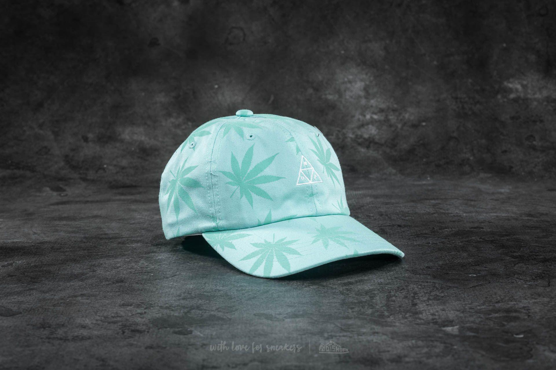 Lyst - Huf Apparel 420 Triple Triangle Dad Hat Mint in Green for Men b3933bdaa39