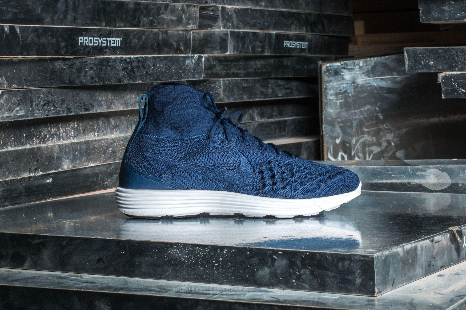info for 12f74 94e3d Nike Lunar Magista Ii Flyknit College Navy  College Navy in Blue for ...