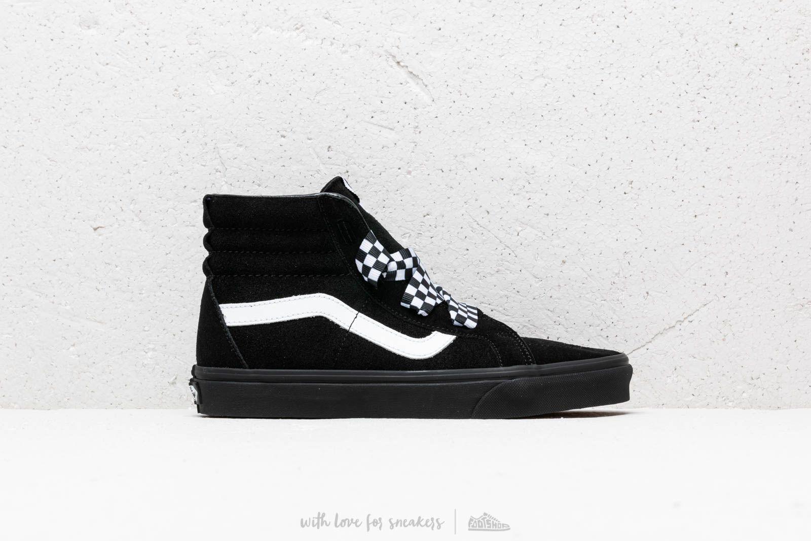 Lyst - Vans Sk8-hi Alt Lace (check Wrap) Black  Black in Black for Men a8403326fdc2