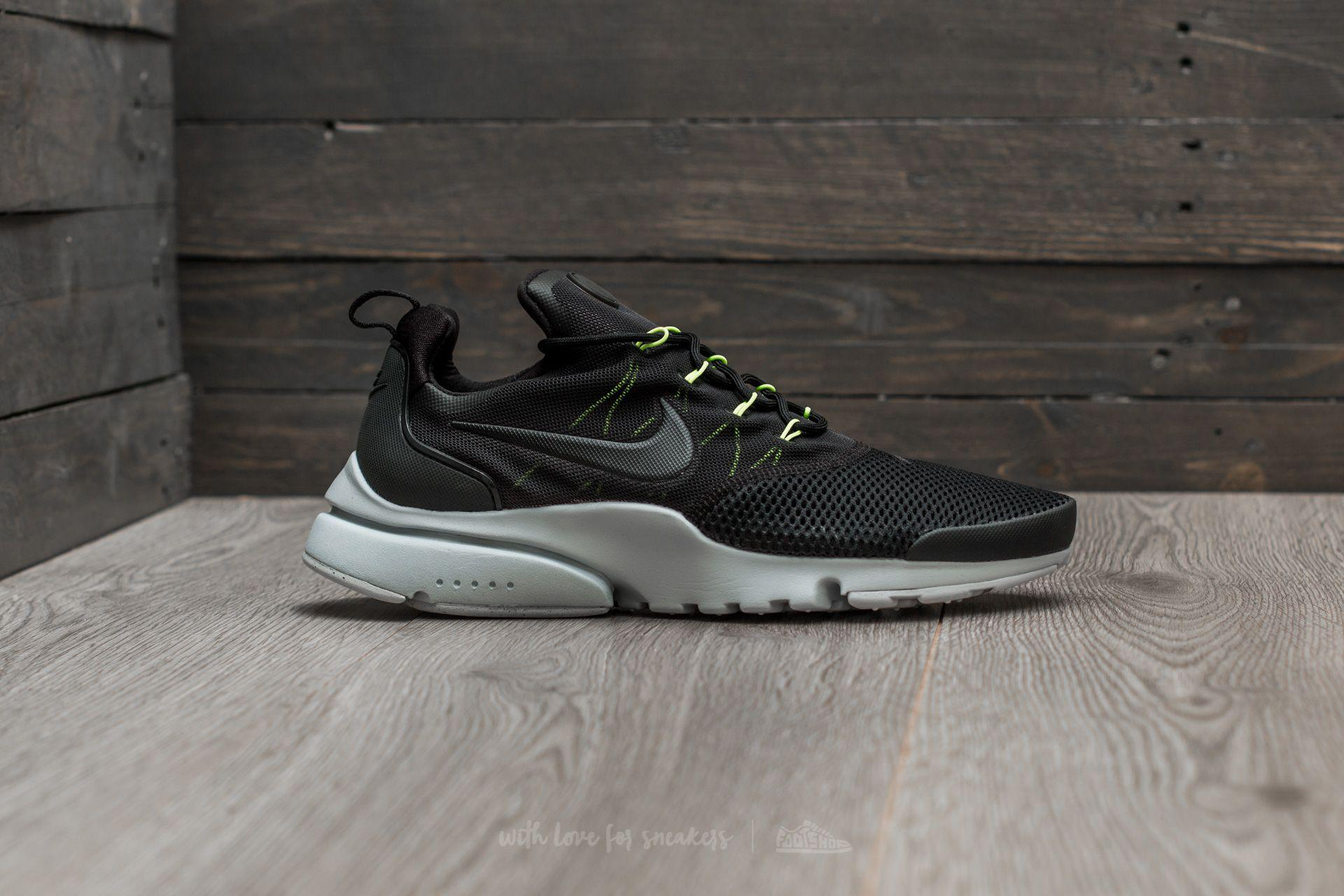 factory authentic 86039 64096 Lyst - Nike Presto Fly Black Black-volt-pure Platinum in Bla