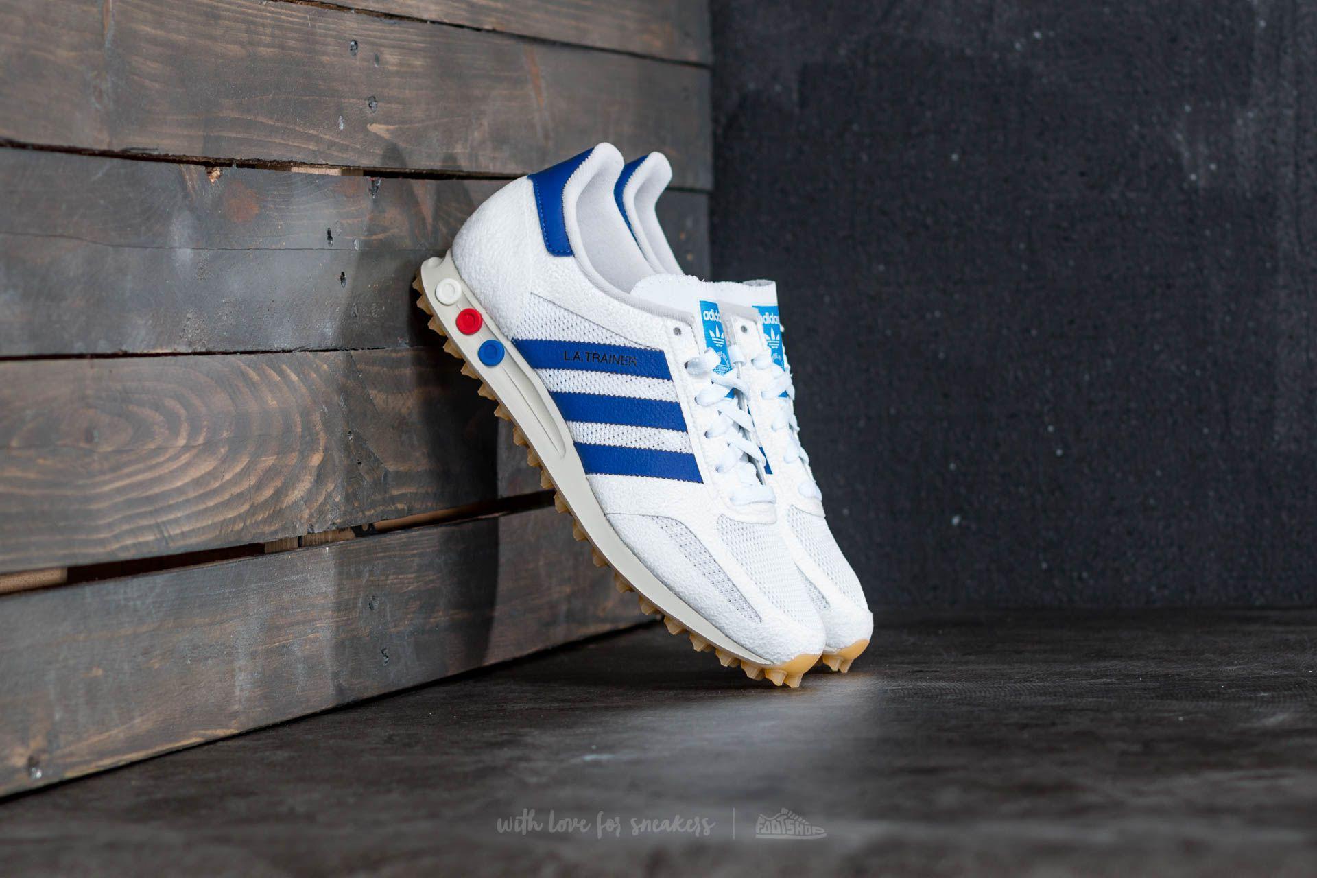 f4b9eeb450d99 adidas Originals Adidas La Trainer Og Vinted White  Mystery Ink  Gum ...