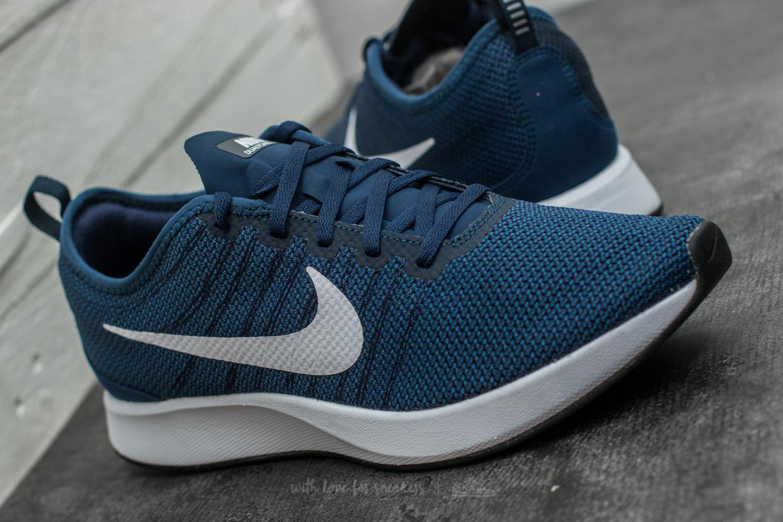 buy online 52207 7fe29 Nike Dualtone Racer Midnight Navy/ White in Blue for Men - Lyst