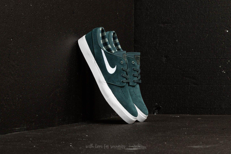 info for 7a3bf 8f071 Nike Sb Zoom Stefan Janoski Deep Jungle  White-clay Green in Green ...