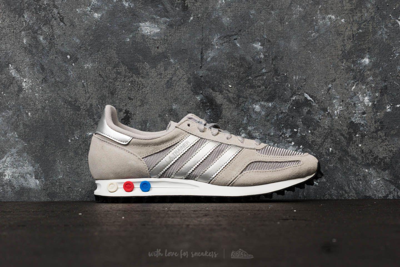 adidas Adidas LA Trainer Medium Solid Grey/ Metallic Silver/ Ftw White Z0PCXw906