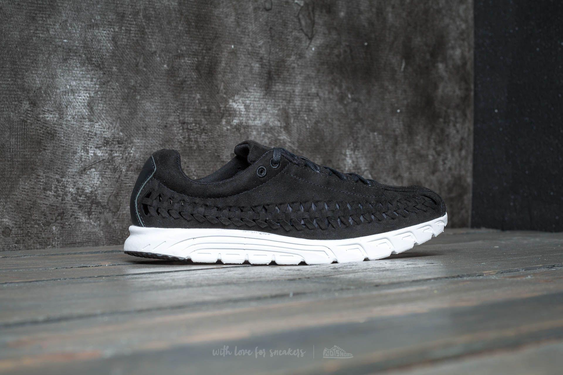 7e7071c010c91b Lyst - Nike Mayfly Woven Black  Black-summit White in Black for Men