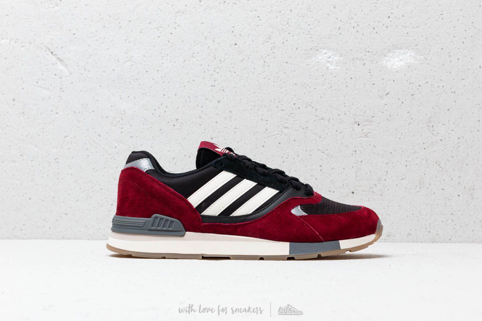 94cdc279185e98 Lyst - adidas Originals Adidas Quesence Collegiate Burgundy  Chalk ...