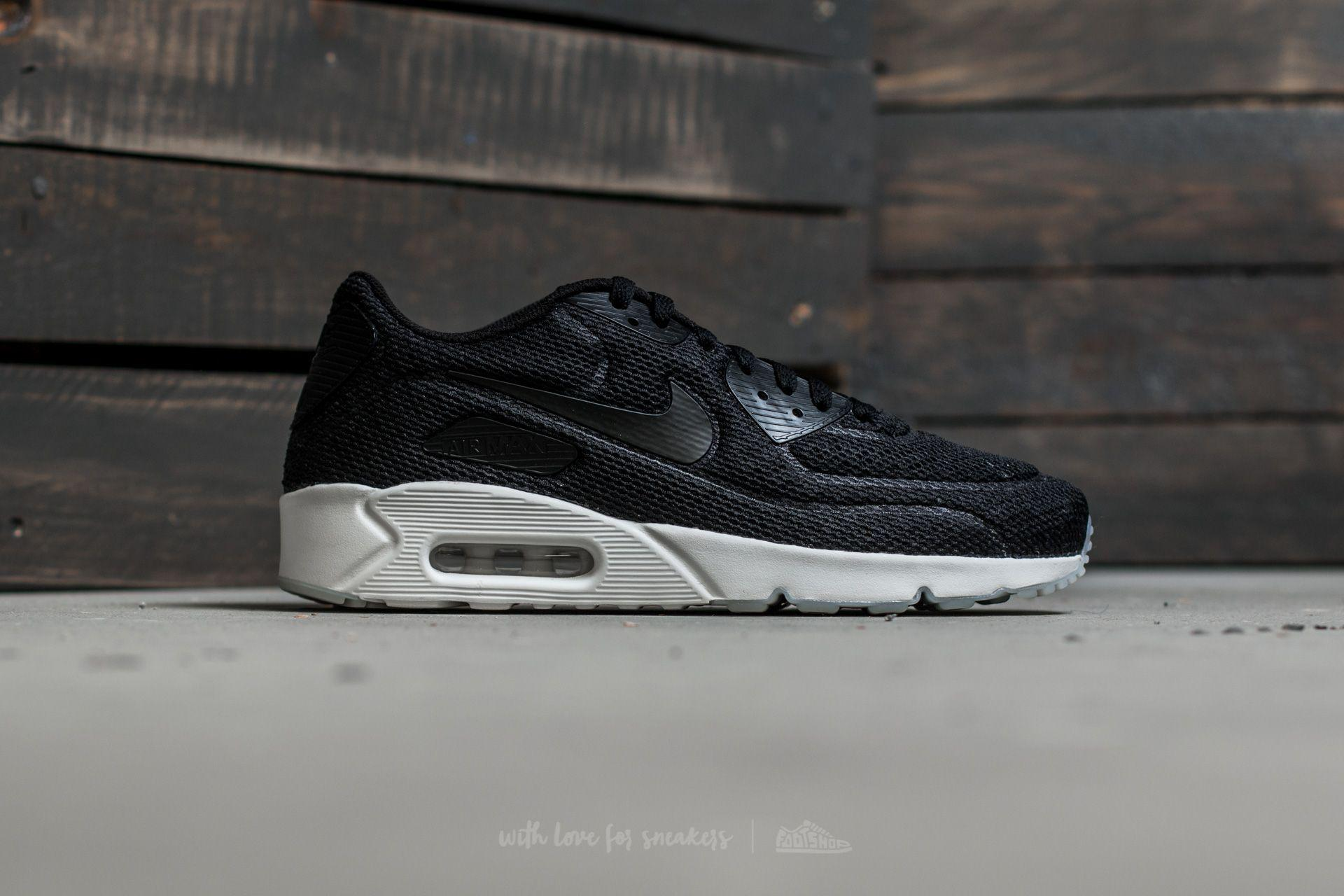 purchase cheap 7815b 9bd30 Nike Air Max 90 Ultra 2.0 Br Black/ Black-summit White in Black for ...