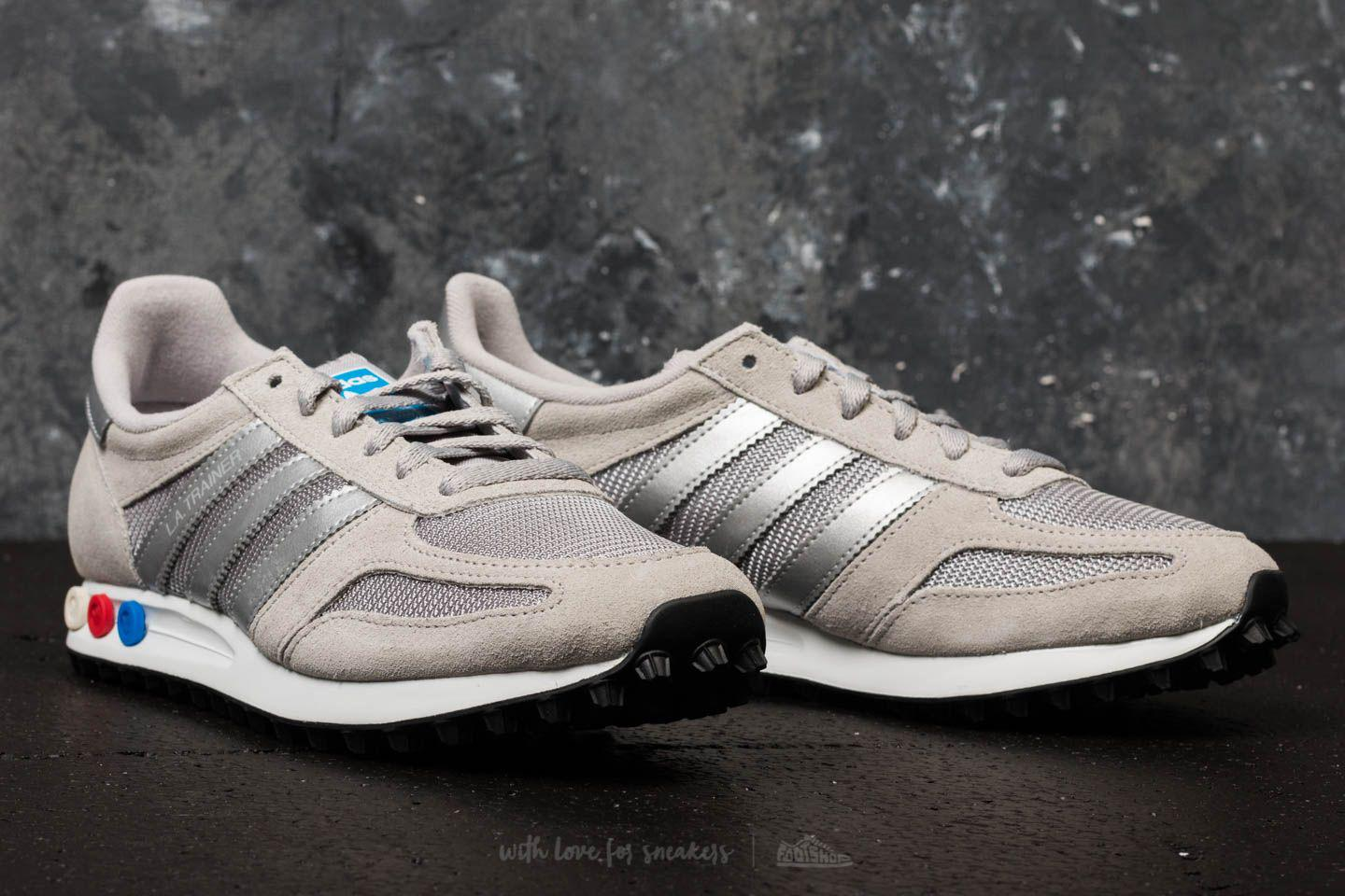 adidas Adidas LA Trainer Medium Solid Grey/ Metallic Silver/ Ftw White D758P97