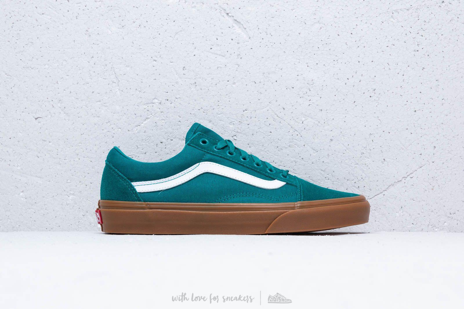 Lyst - Vans Old Skool Quetzal Green  Gum in Green for Men b55260104