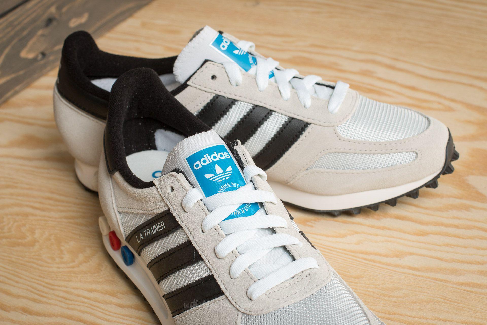 88a47cbb85de68 Lyst - adidas Originals Adidas La Trainer Og Vintage White  Core ...