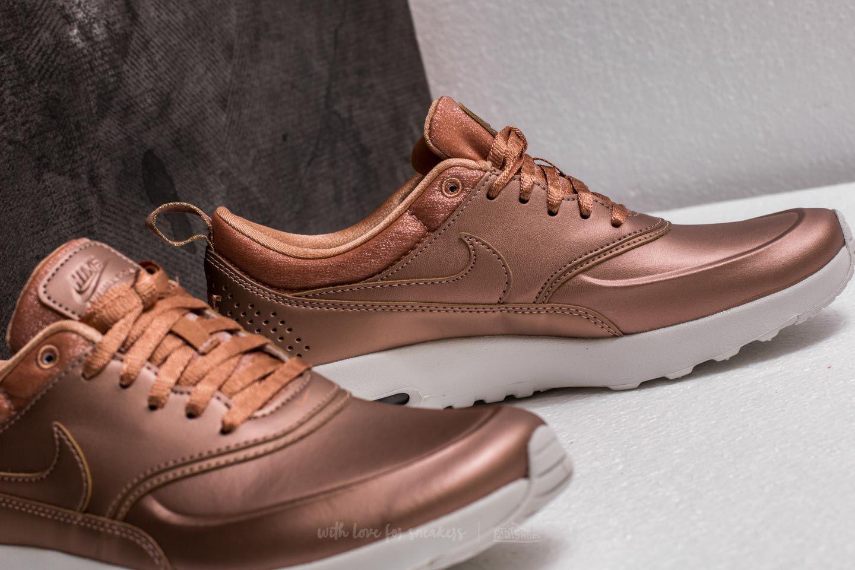 af061861f07b Lyst - Nike Wmns Air Max Thea Premium Metallic Red Bronze in Metallic