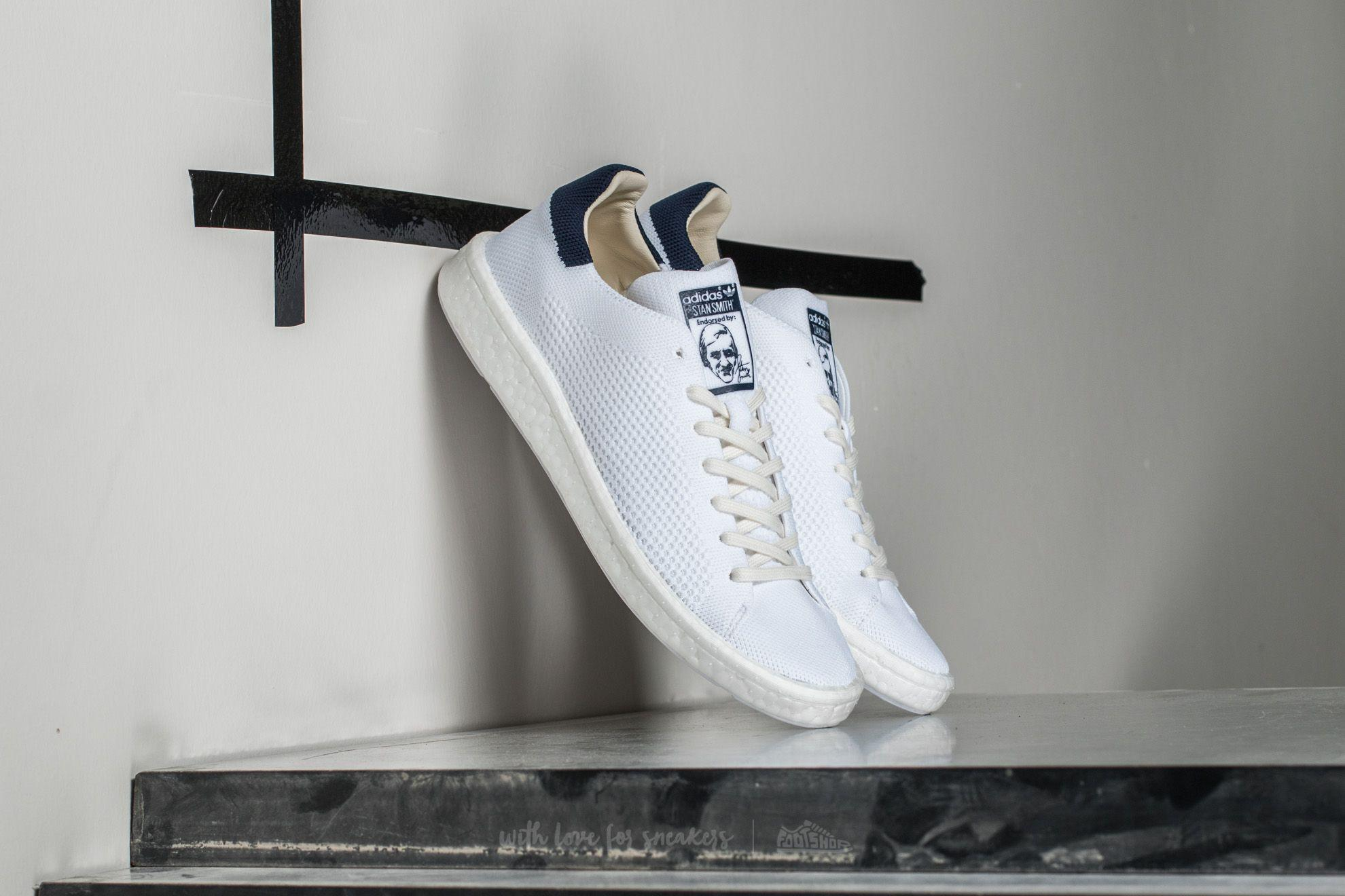 Lyst - adidas Originals Adidas Stan Smith Primeknit Ftw White   Ftw ... d1f48db3e