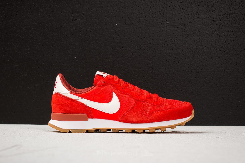 Nike Sportswear INTERNATIONALIST - Trainers - habanero red/mars stone/sail kKpIKf6