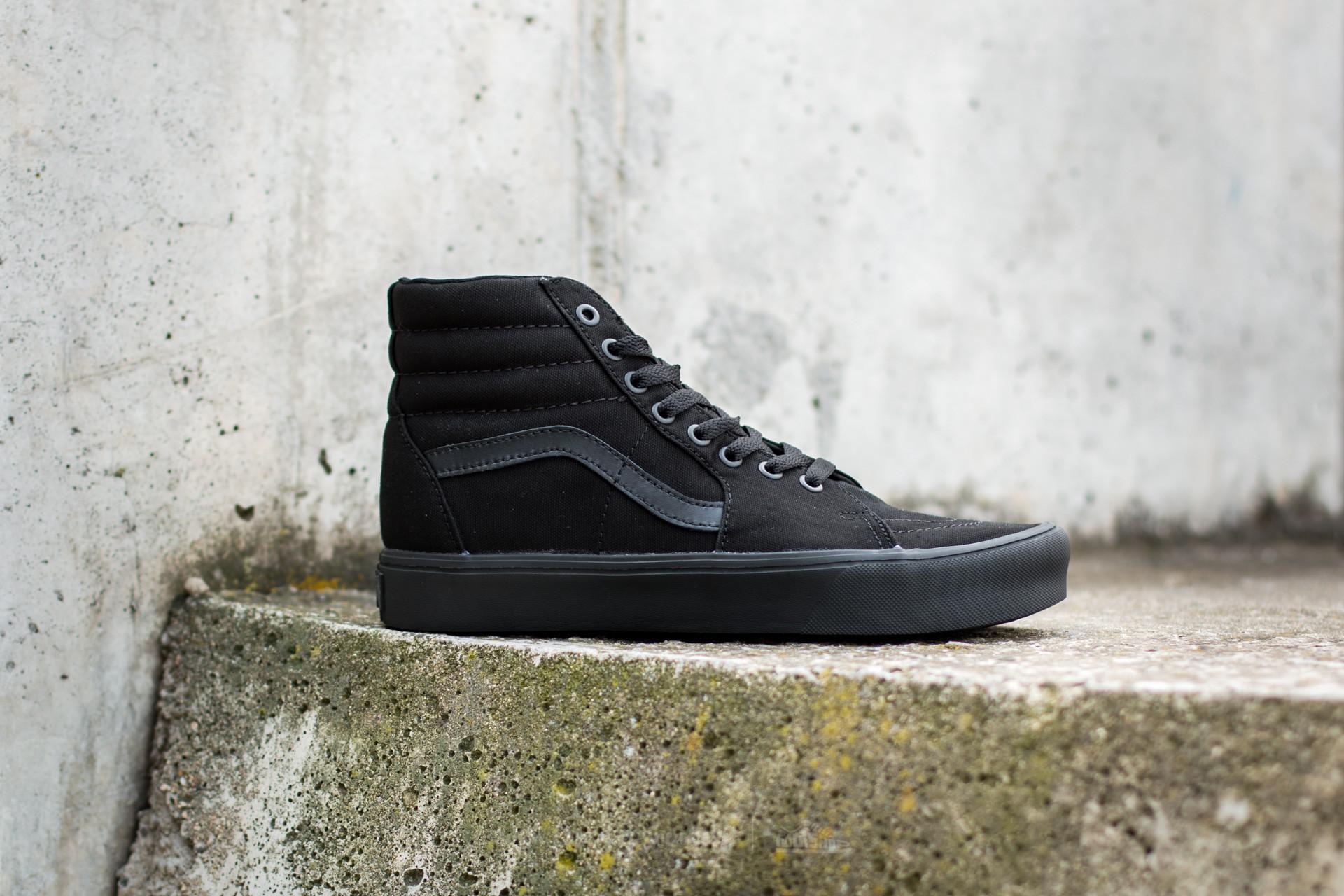cbd0a71d1a9 Lyst - Vans Sk8-hi Lite (canvas) Black  Black in Black for Men