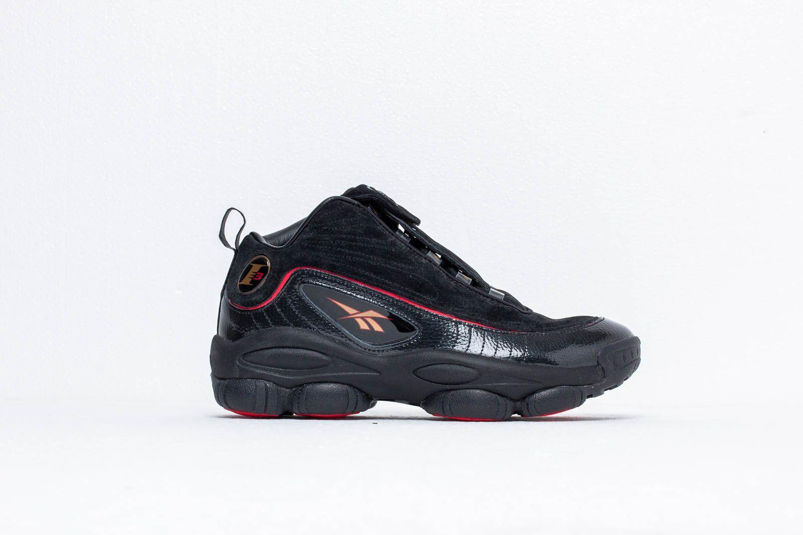ac7ebd918e6023 Lyst - Reebok Reebok Iverson Legacy Black  White  Red  Brass in ...