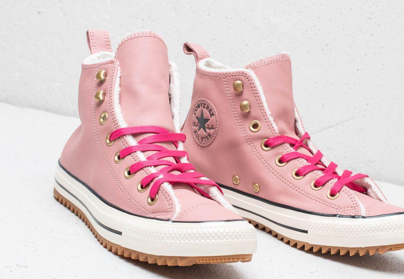 2a469129283 Converse - Chuck Taylor All Stars Hiker Boot High Rust Pink  Pink Pop -  Lyst. View fullscreen