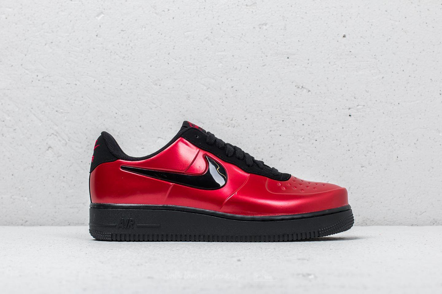 6899e2401758e Lyst - Nike Air Force 1 Foamposite Pro Cup Gym Red  Black in Red for Men